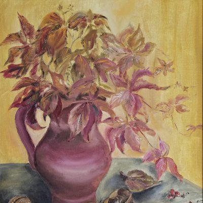 2001 - Herbststrauß, 40x50cm, Öl