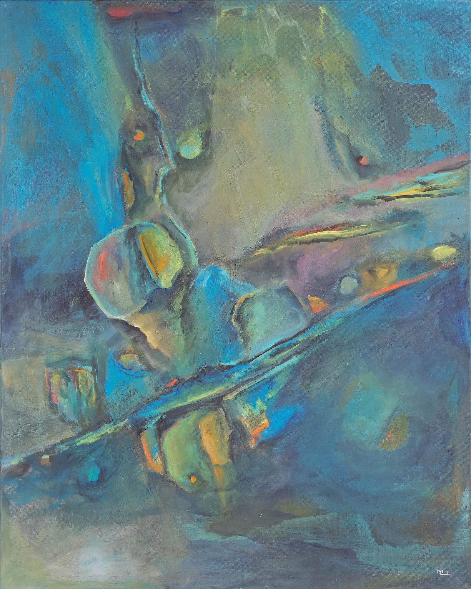 2009 - Farben- und Formenspiel, 80x100cm, Acryl