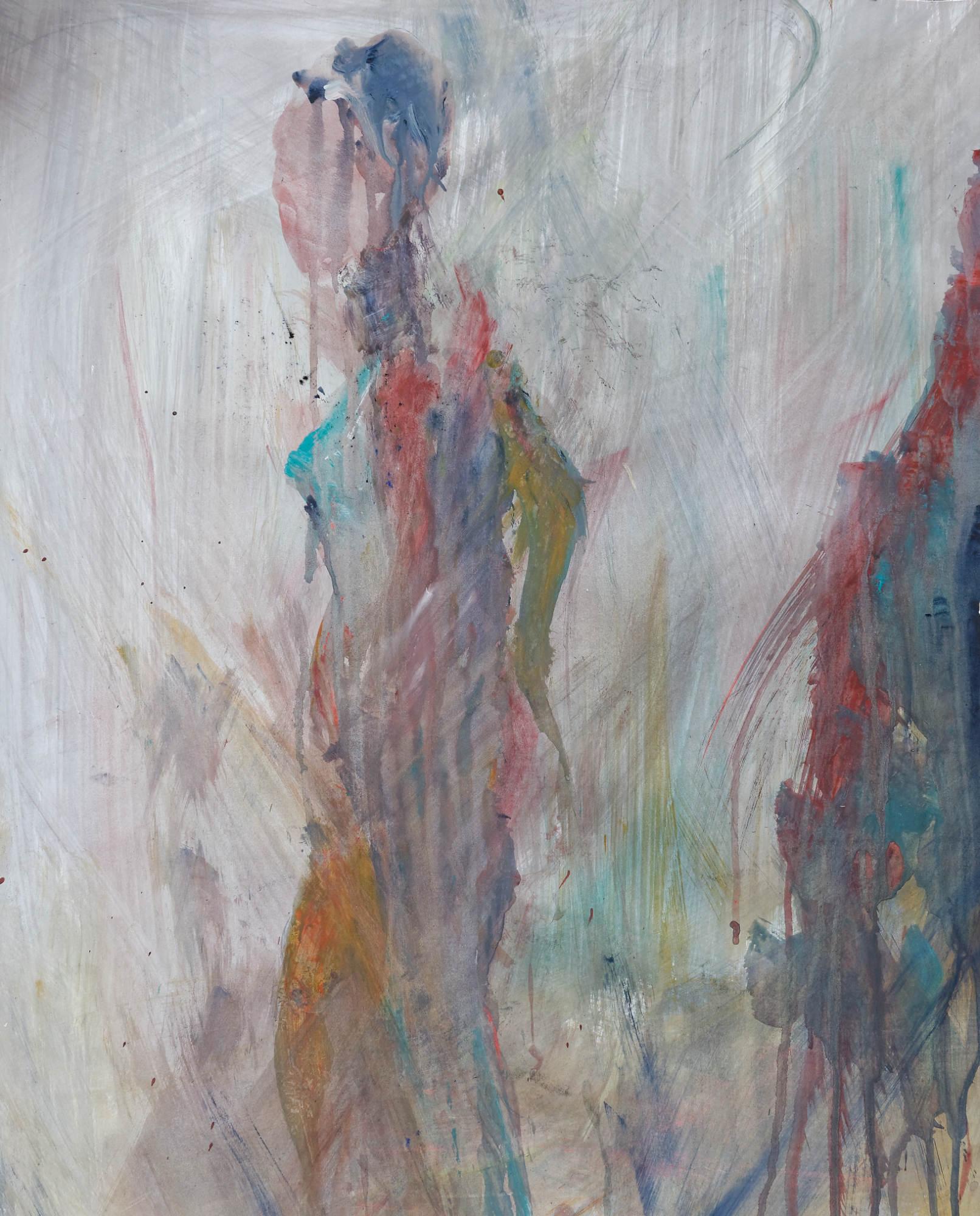 2008 - Akt Frau, 55x65cm, Acryl