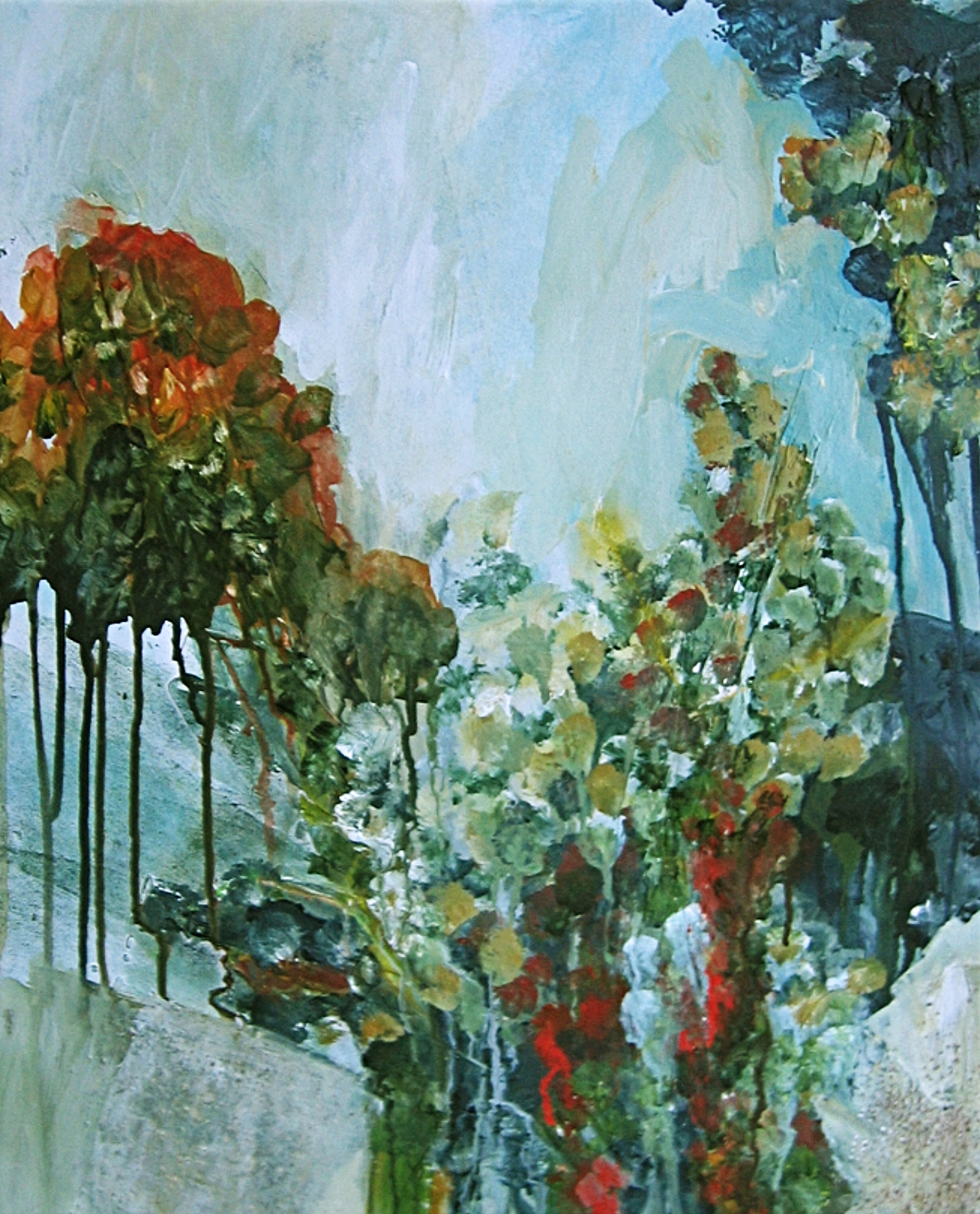 2001 - Herbststimmung, 50x40cm, Aquarell