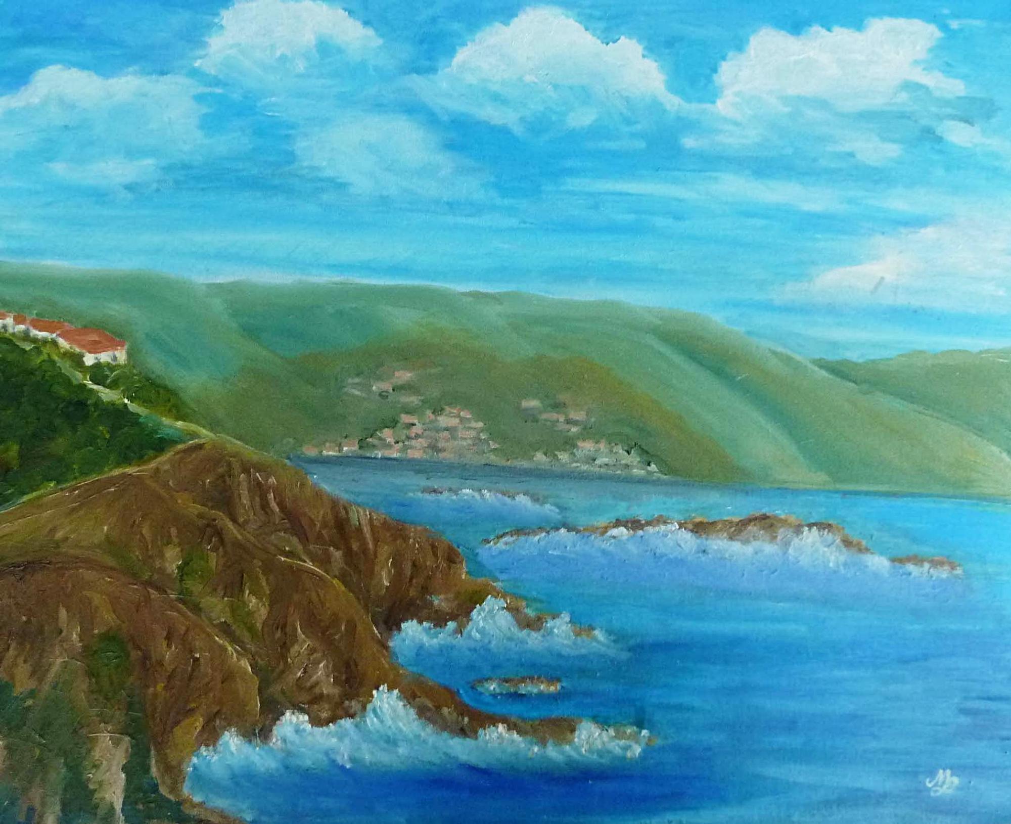 2001 - Puerto de Selvia, 50x40cm, Acryl