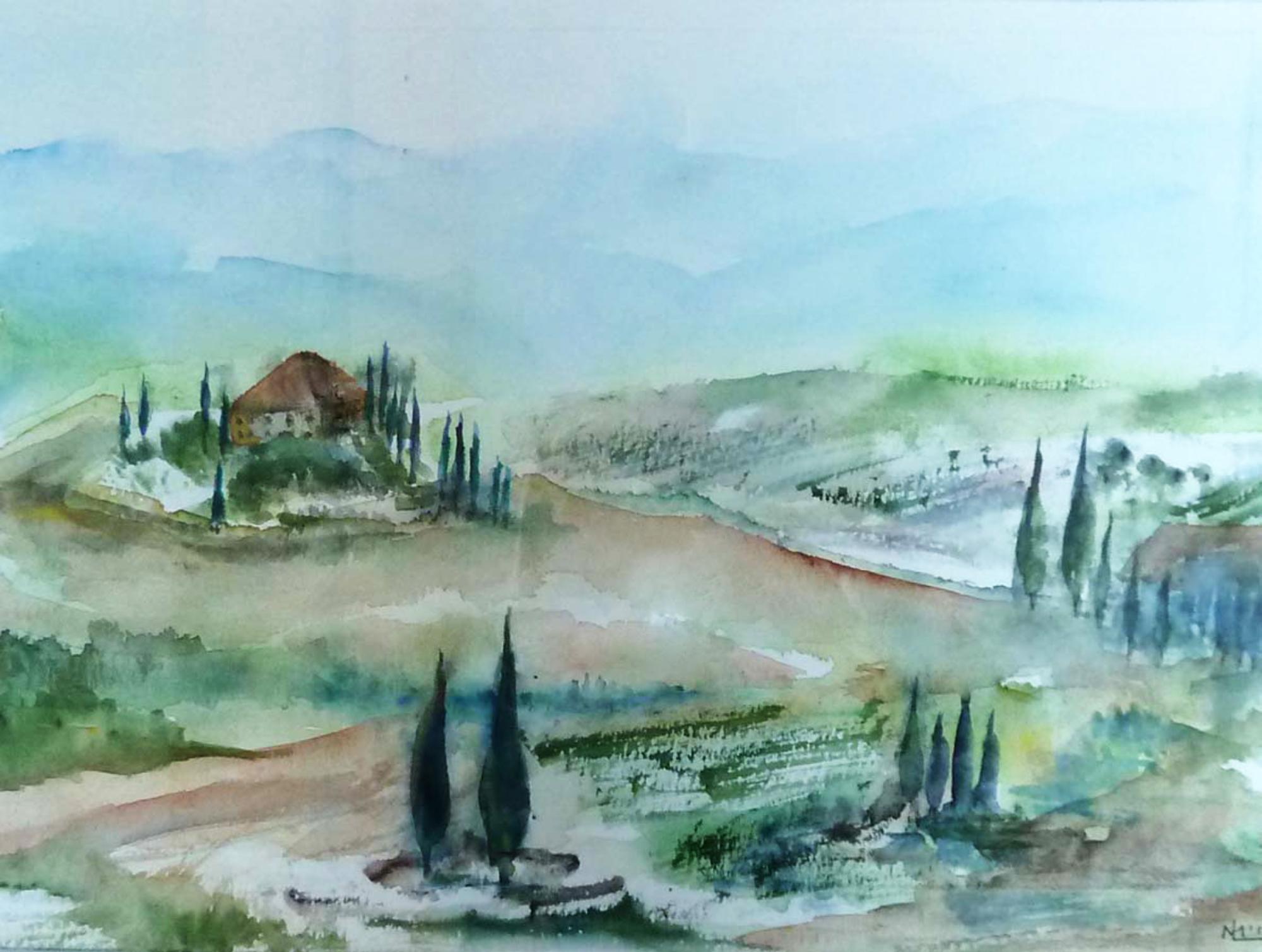 2011 - Toscana, 50x40cm, Aquarell